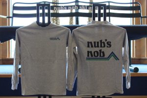 Nub's Nob Long Sleeve Gray