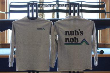 Nub's Nob Long Sleeve Gray