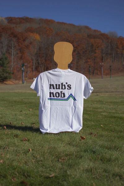 Nub's Nob Logo T Shirt - White
