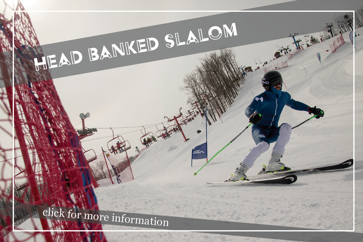 head banked slalom page button