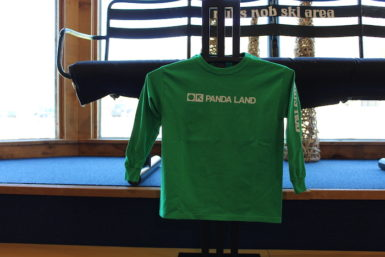 Kid's Long Sleeve Panda Land Shirt