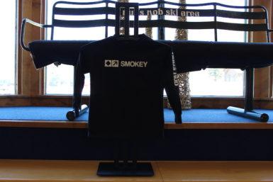 Kid's Long Sleeve Smokey Shirt Black