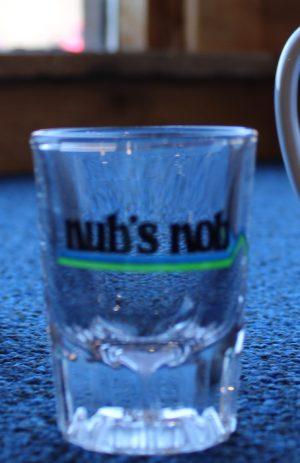 Nub's Nob Shot Glass