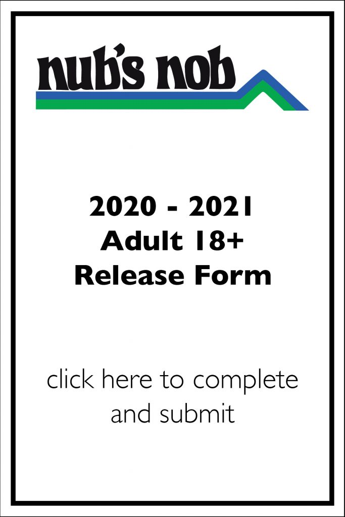 2020-21 Adult Release Form