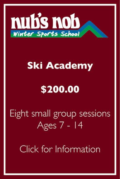 Ski Academy Registration