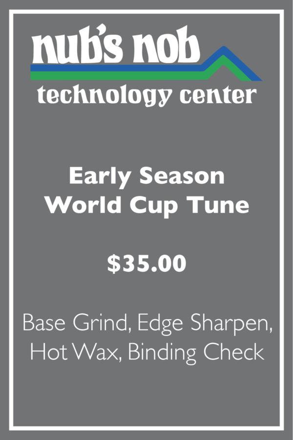 Early Season World Cup Tune