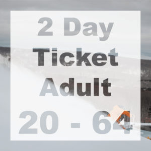 2 Day Adult Ticket