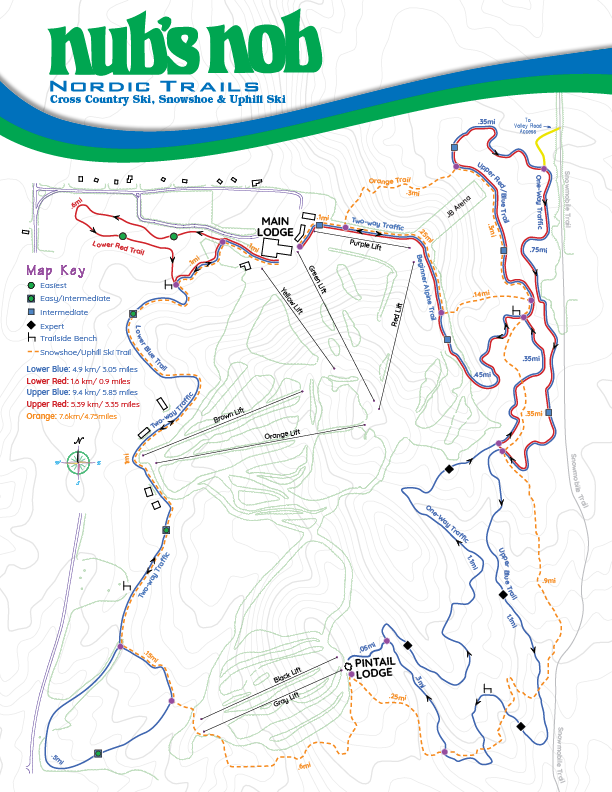 NordicTrail Map