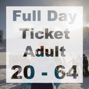 Full Day Adult Ticket